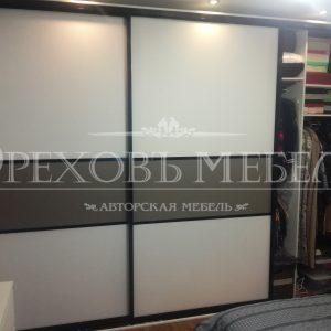 Шкаф купе со стеклом