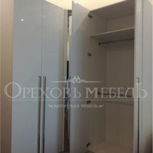 Шкаф угловой фото с зеркалом Омск