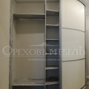 Шкаф купе радиусный в Омске картинка 158.2