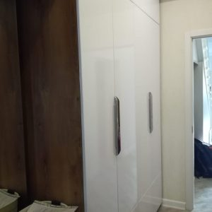 Шкаф в прихожую с распашными дверьми