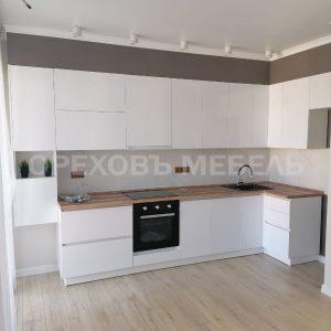 Кухня белая 127