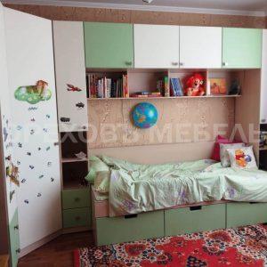 Детская мебель оливкового цвета 21
